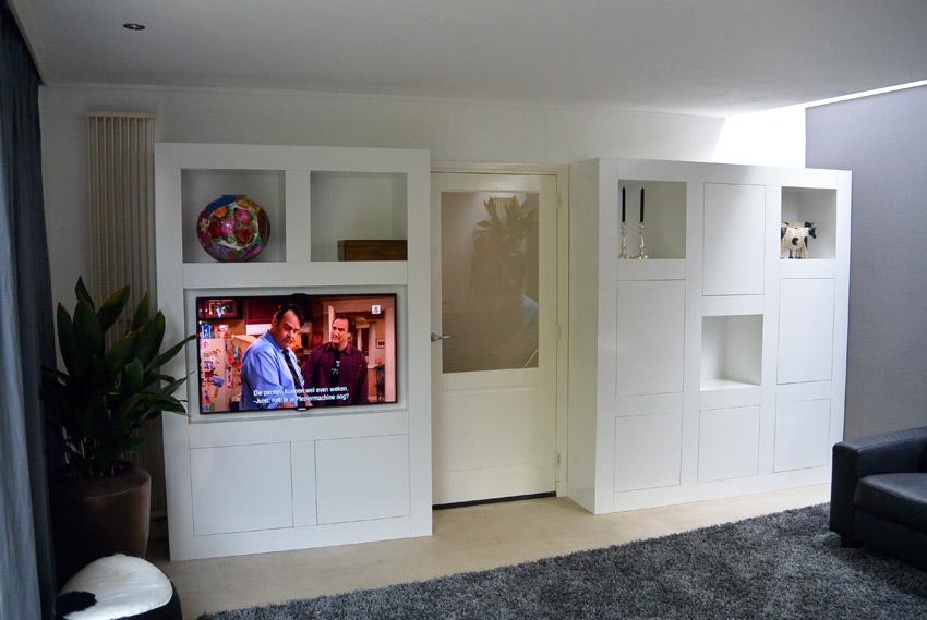 Strakke Witte Keuken In Oisterwijk : Interieurbouw particulieren - Van ...